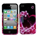 For Apple iphone 4S 4 Cover Hard Case Love