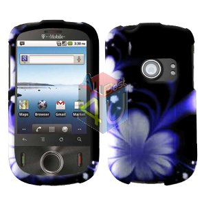 For Huawei Comet U8150 Cover Hard Case B-Flower