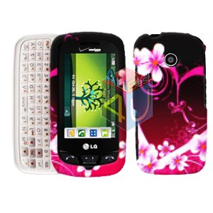 For LG Cosmos Touch VN270 Cover Hard Case Love