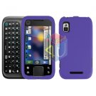 For Motorola Flipside MB508 Cover Hard Case Rubberized Purple
