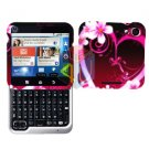 For Motorola Flipout MB511 Cover Hard Case Love