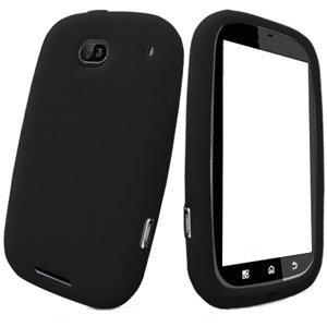 For Motorola Bravo MB520 Silicon cover soft case Black