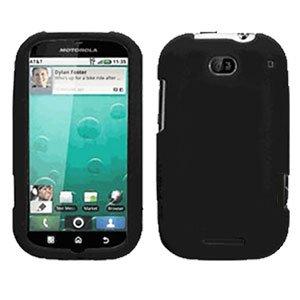 For Motorola Bravo MB520 Cover Hard Case Rubberized Black