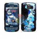 For LG Optimus U US670 Cover Hard Case Flower