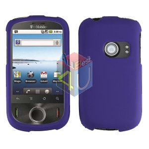 For Huawei Ideos U8150 Cover Hard Case Rubberized Purple