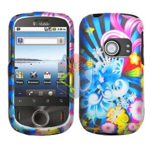 For Huawei Ideos U8150 Cover Hard Case A-Flower