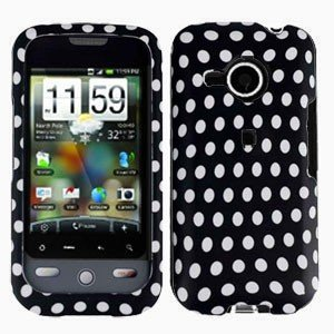 FOR HTC Droid Eris Cover Hard Case Polka Dot