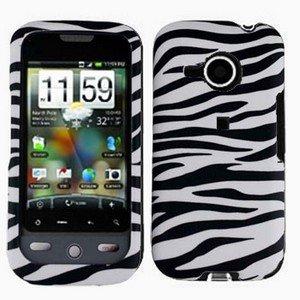 FOR HTC Droid Eris Cover Hard Case Zebra