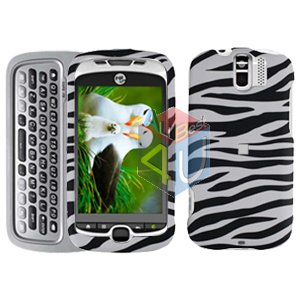 FOR HTC MyTouch 3G Slide Cover Hard Case Zebra