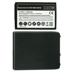 For Motorola Droid X MB810 Extended Replacement Battery Li-ion-2300mah w/ Door Grey