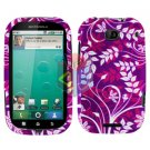 For Motorola Bravo MB520 Cover Hard Case P-Flower