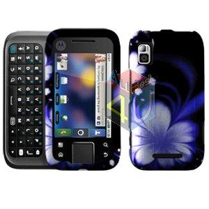 For Motorola Flipside MB508 Cover Hard Case B-Flower