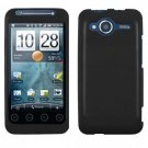 FOR HTC Evo Shift 4G Cover Hard Case Rubberized Black