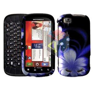 For Motorola Cliq 2 MB611 Cover Hard Case B-Flower