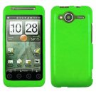 FOR HTC Evo Shift 4G Cover Hard Case Rubberized Neon Green