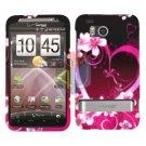 For HTC ThunderBolt Cover Hard Phone Case Love