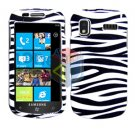 For Samsung Focus i917 Cover Hard Case Zebra
