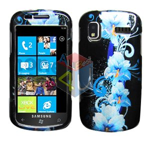 For Samsung Focus i917 Cover Hard Case Flower