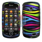 For Samsung Solstice II 2 A817 Cover Hard Case Rainbow