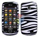 For Samsung Solstice II 2 A817 Cover Hard Case Zebra