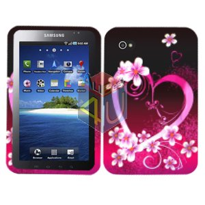 For Samsung Galaxy Tab Cover Hard Case Love ( i800 / p1000 )