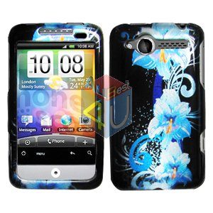 For HTC Wildfire 6225 Cover Hard Case Flower