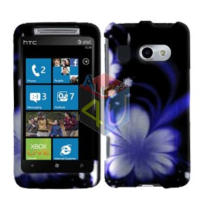 For HTC Surround T8788 Cover Hard Case B-Flower