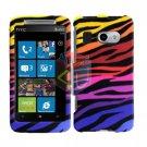 For HTC Surround T8788 Cover Hard Case C-Zebra