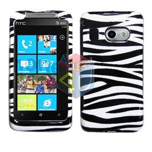 For HTC Surround T8788 Cover Hard Case Zebra