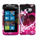For HTC Surround T8788 Cover Hard Case Love