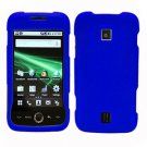 For Huawei Ascend M860 Cover Hard Case Rubberized Blue