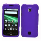 For Huawei Ascend M860 Cover Hard Case Rubberized Purple