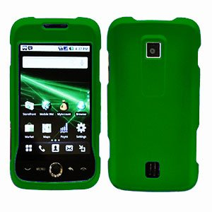 For Huawei Ascend M860 Cover Hard Case Rubberized Green
