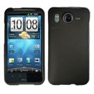 FOR HTC Inspire 4G Cover Hard Phone Case Rubberized Black