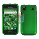For Samsung Vibrant Galaxy S Cover Hard Case Rubberized Green ( SGH-T959 )