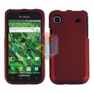 For Samsung Vibrant Galaxy S Cover Hard Case Rubberized Red ( SGH-T959 )