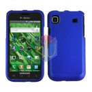For Samsung Vibrant Galaxy S Cover Hard Case Rubberized Blue ( SGH-T959 )