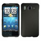 FOR HTC Desire HD Cover Hard Phone Case Rubberized Black