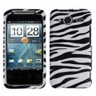 FOR HTC Evo Shift 4G Cover Hard Case Zebra