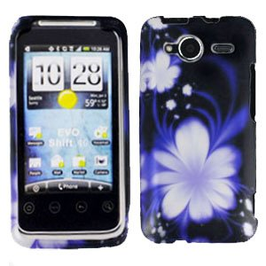 FOR HTC Evo Shift 4G Cover Hard Case B-Flower