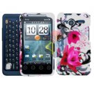 For Motorola Atrix 4G MB860 Cover Hard Case W-Flower