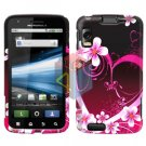 For Motorola Atrix 4G MB860 Cover Hard Case Love