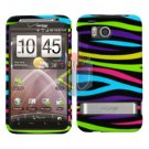 For HTC ThunderBolt Cover Hard Phone Case Rainbow