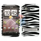 For HTC ThunderBolt Cover Hard Case Zebra
