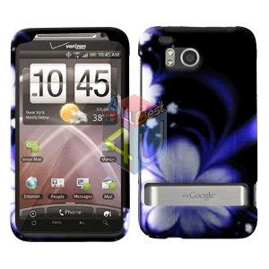 For HTC ThunderBolt Cover Hard Phone Case B-Flower ADR6400