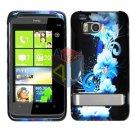 For HTC ThunderBolt Cover Hard Phone Case Flower ADR6400
