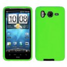 FOR HTC Inspire 4G Silicon cover case Neon Green
