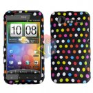 FOR HTC Incredible S Cover Hard Phone Case R-Dot