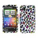 FOR HTC Incredible S Cover Hard Phone Case R-Leopard