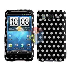 FOR HTC Inspire 4G Cover Hard Phone Case Polka Dot